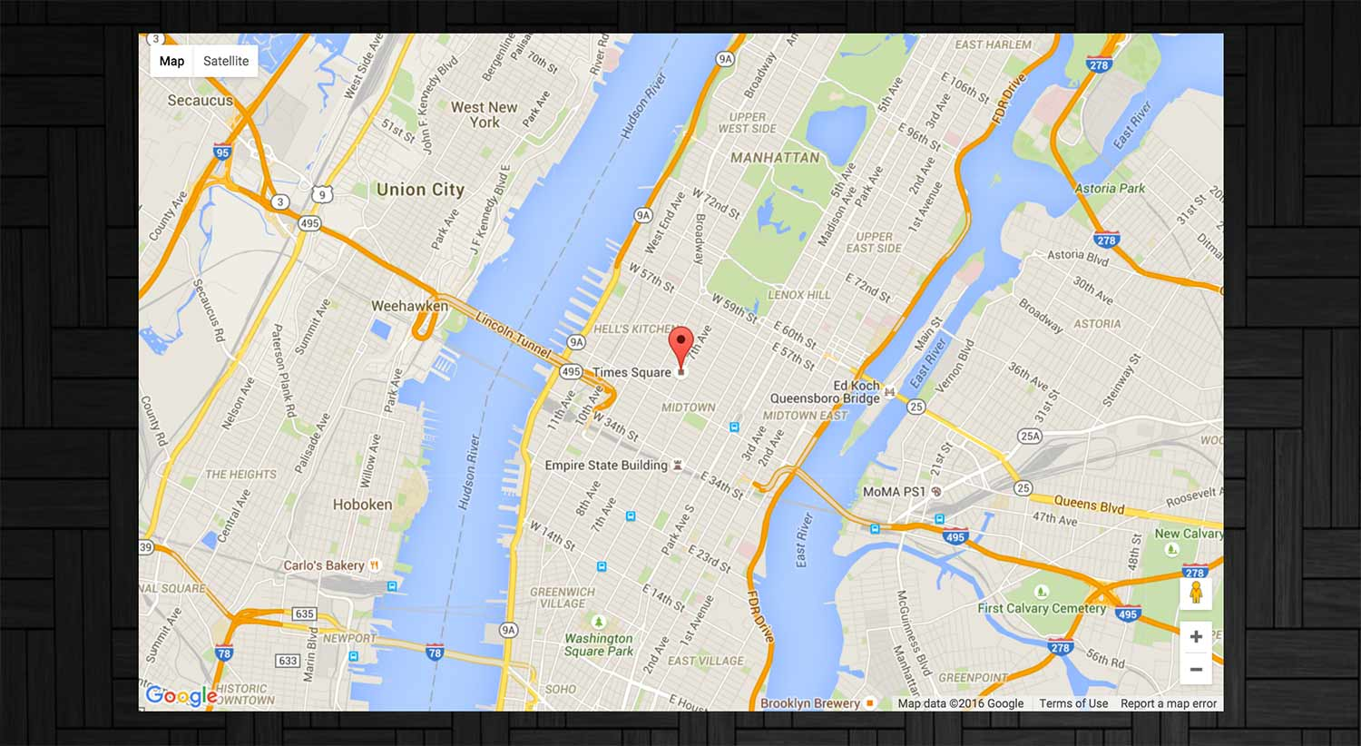the new code – Create An Auto-Centered Responsive Google Map