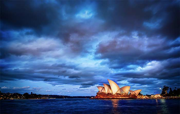 Photograph of Sydney Harbour
