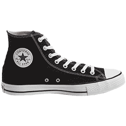 Photograph of a classic Chuck Converse shoe