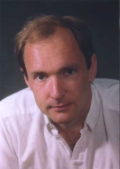Tim Berners-Lee, the lead developer of HTML and the concept of the World Wide Web