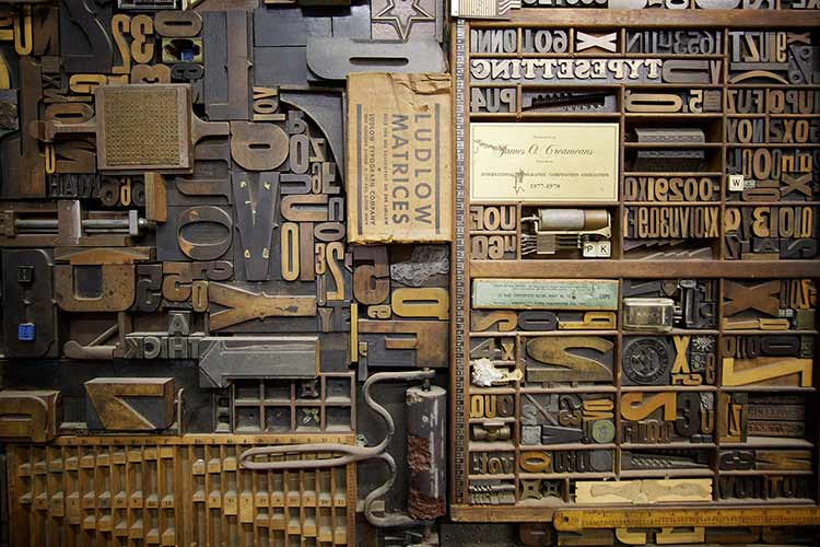 A collection of typeset blocks and typesetting tools