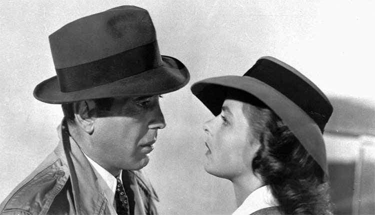 Farewell scene of the movie Casablanca